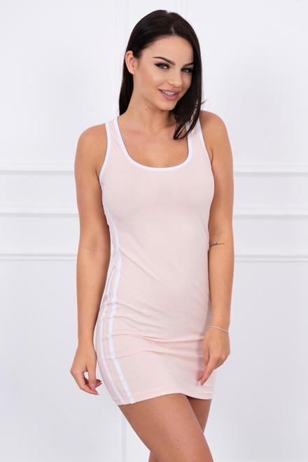 b46626823875 Športové šaty bez rukávov ružové